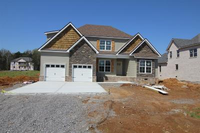 Murfreesboro Single Family Home For Sale: 2526 Armstrong Valley Dr(Lot 2)