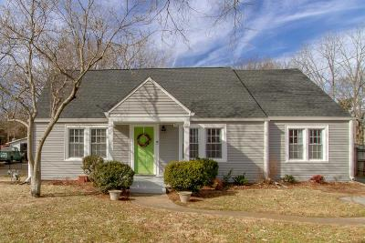 Nashville Single Family Home Under Contract - Showing: 2921 Wingate Ave