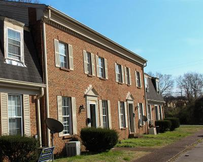 Davidson County Condo/Townhouse Under Contract - Showing: 323 Forrest Park Rd 1-20 #1-20