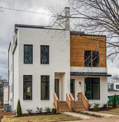 Nashville Single Family Home For Sale: 753 A Lynwood Ave