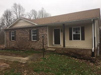 Christian County, Ky, Todd County, Ky, Montgomery County Single Family Home For Sale: 500 Barney Ln