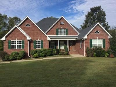 Clarksville Single Family Home Under Contract - Showing: 2066 Mossy Oak Cir