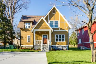 Nashville Single Family Home For Sale: 1009 A Calvert St