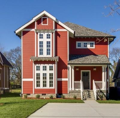 Nashville Single Family Home For Sale: 1009 B Calvert St