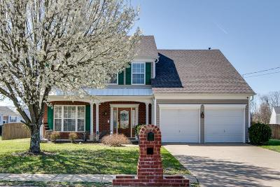 Mount Juliet Single Family Home For Sale: 2423 Newberry Ln