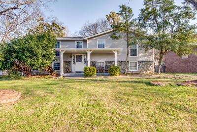 Nashville Single Family Home For Sale: 7410 Bridle Dr