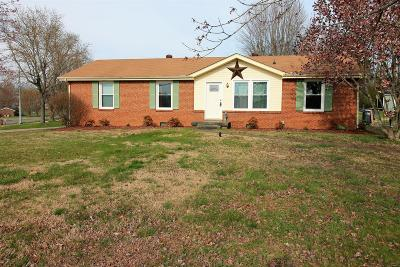 Clarksville Single Family Home Under Contract - Showing: 2901 Ashland City Rd