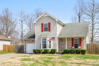 Clarksville TN Single Family Home For Sale: $137,500