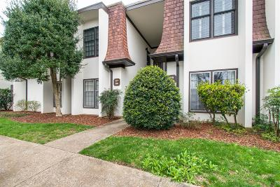 Nashville Condo/Townhouse For Sale: 4505 Harding Pike #117