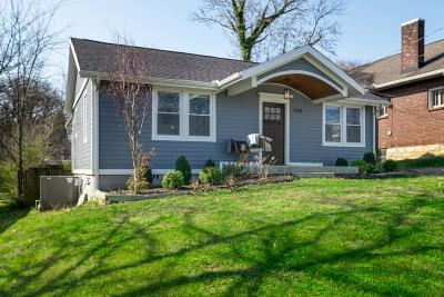 Nashville Single Family Home Under Contract - Showing: 1114 McChesney Ave