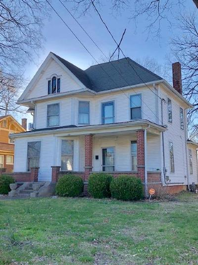Christian County Single Family Home For Sale: 2211 Virginia Street