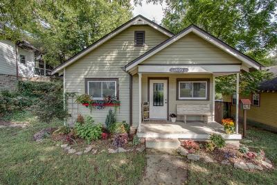 Nashville Single Family Home Under Contract - Showing: 1405 Russell St