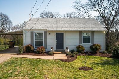 Nashville Single Family Home For Sale: 5517 Vaught Dr