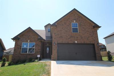 Clarksville TN Single Family Home Under Contract - Showing: $249,900