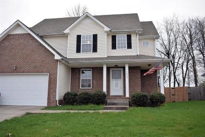 Clarksville TN Single Family Home For Sale: $197,000
