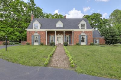 Nashville Single Family Home For Sale: 4231 Franklin Pike