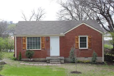 Nashville Single Family Home For Sale: 211 Orlando Ave