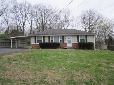 Smyrna, Lascassas Single Family Home Under Contract - Showing: 110 Chestnut Street