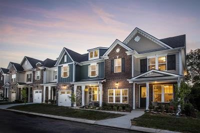 Mount Juliet Condo/Townhouse For Sale: 360 Tennypark Lane- Lot 360