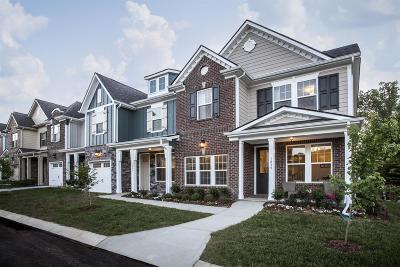 Mount Juliet Condo/Townhouse For Sale: 1436 Tbd Lot 1436