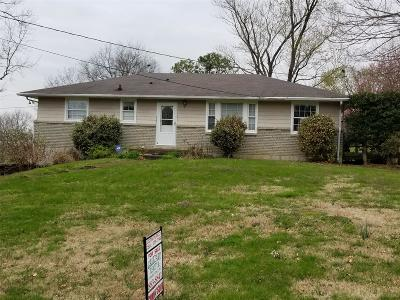 Nashville Single Family Home For Sale: 2615 Brownwood Dr