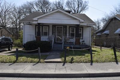 Nashville Single Family Home For Sale: 2211 Hermosa St.