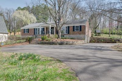 Nashville Single Family Home For Sale: 3920 Wallace Ln