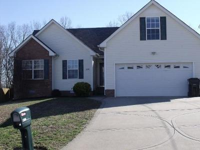 Christian County, Ky, Todd County, Ky, Montgomery County Rental For Rent: 1479 McClardy Rd