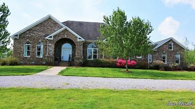 Christian County, Ky, Todd County, Ky, Montgomery County Single Family Home For Sale: 880 Oak Plains Rd
