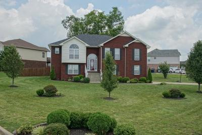 Clarksville TN Single Family Home For Sale: $242,500