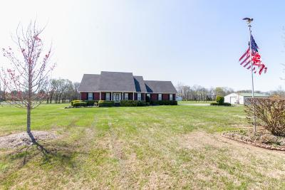 Murfreesboro Single Family Home Under Contract - Showing: 4079 Yeargan Rd