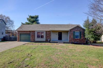Christian County, Ky, Todd County, Ky, Montgomery County Rental For Rent: 3406 Minor Dr