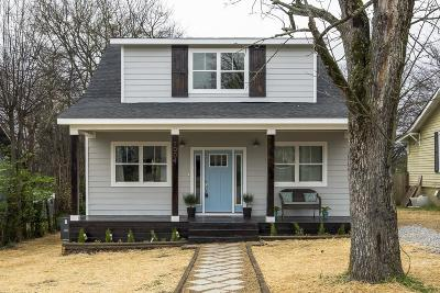 Nashville Single Family Home For Sale: 1004 Elvira Ave