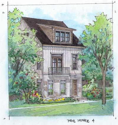 Nashville Single Family Home For Sale: 915 Monroe St