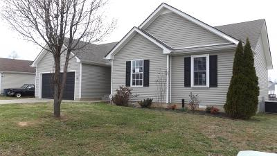 Clarksville TN Single Family Home For Sale: $115,000