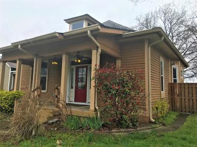Nashville Single Family Home For Sale: 1716 Nassau St