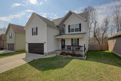 Clarksville TN Single Family Home For Sale: $214,900