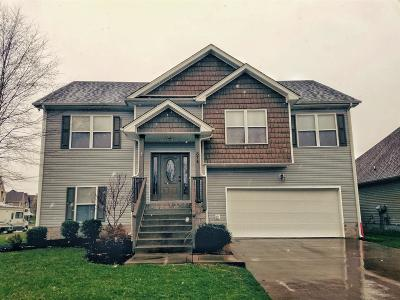 Clarksville TN Single Family Home For Sale: $188,000