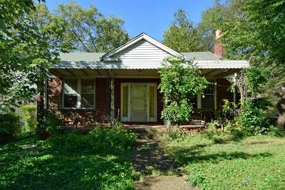 Nashville Single Family Home For Sale: 1803 Benjamin St