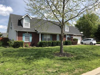 Single Family Home For Sale: 1624 Antebellum Dr