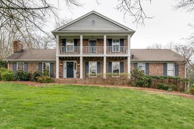 Brentwood TN Single Family Home For Sale: $579,900