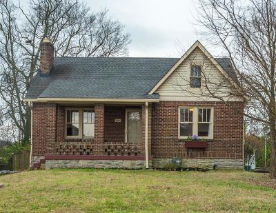 Nashville Single Family Home For Sale: 1014 Hart Ln
