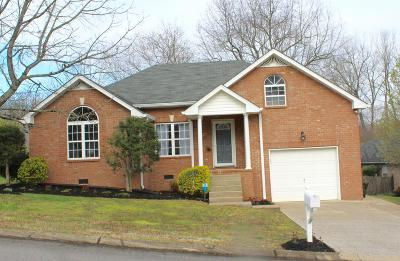 Mount Juliet Single Family Home For Sale: 803 Sunset Pt