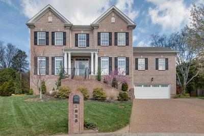 Nashville  Single Family Home For Sale: 1825 Apple Ridge Cir