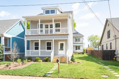 Nashville Single Family Home For Sale: 1404 A 10th Ave N
