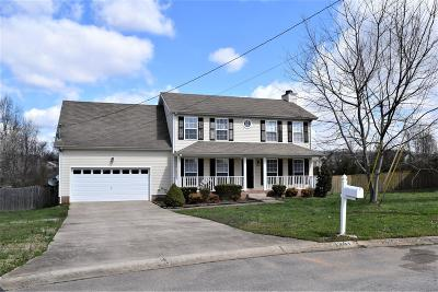 Clarksville TN Single Family Home For Sale: $173,000