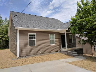 Robertson County Single Family Home For Sale: 911 17th Ave E