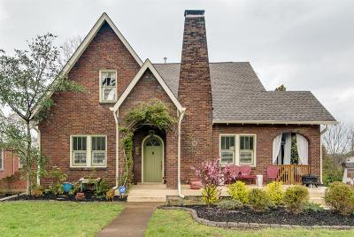 Nashville Single Family Home For Sale: 1915 Holly St