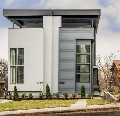 Nashville Single Family Home For Sale: 1084 Archer Street