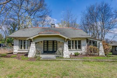 Nashville TN Single Family Home For Sale: $599,900